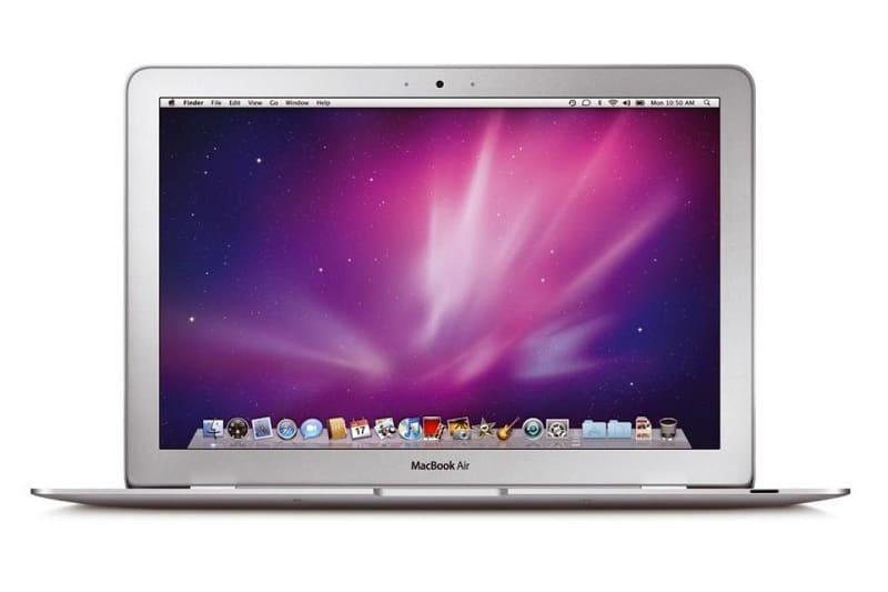 Ordinateur voyage, MacBook Air 13 pouces