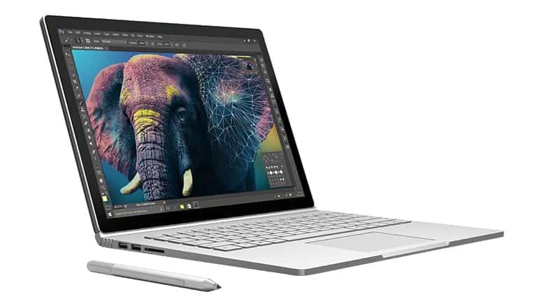 Ordinateur voyage, Microsoft Surface Book