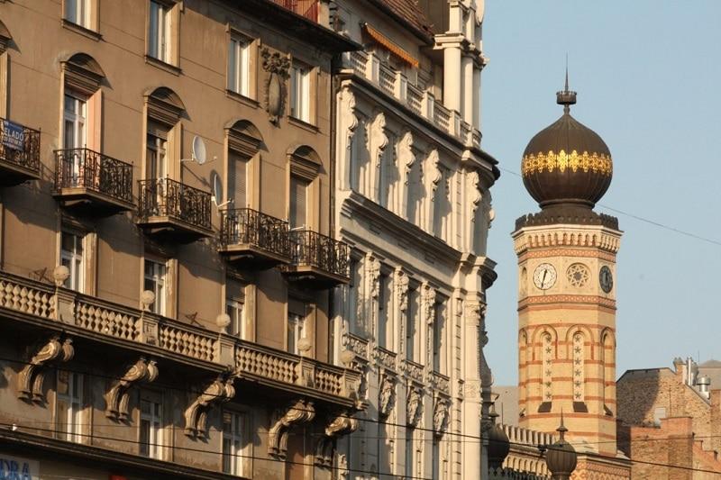Quartier Erzsébetváros à Budapest