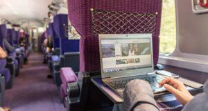 Siège dans un train SNCF