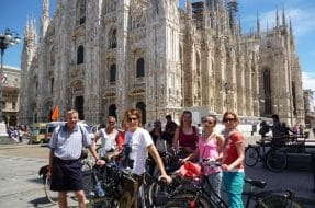 Visite de Milan en vélo