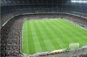 Visite du stade San Siro à Milan
