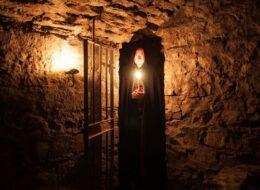 Voûtes souterraines d'Edimbourg en journee