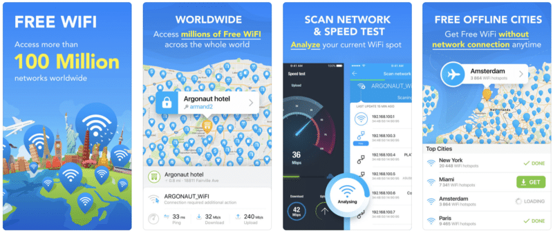 Application Wifimap