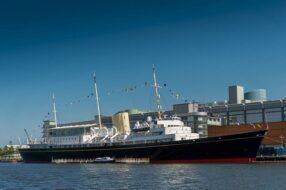 Yacht Royal Britannia à Edimbourg