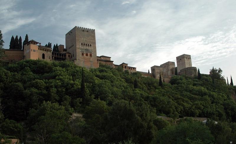 Alcazaba, forteresse de l'Alhambra