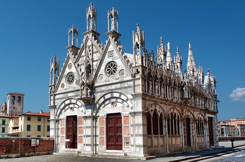 Église Santa Maria della Spina, Pise