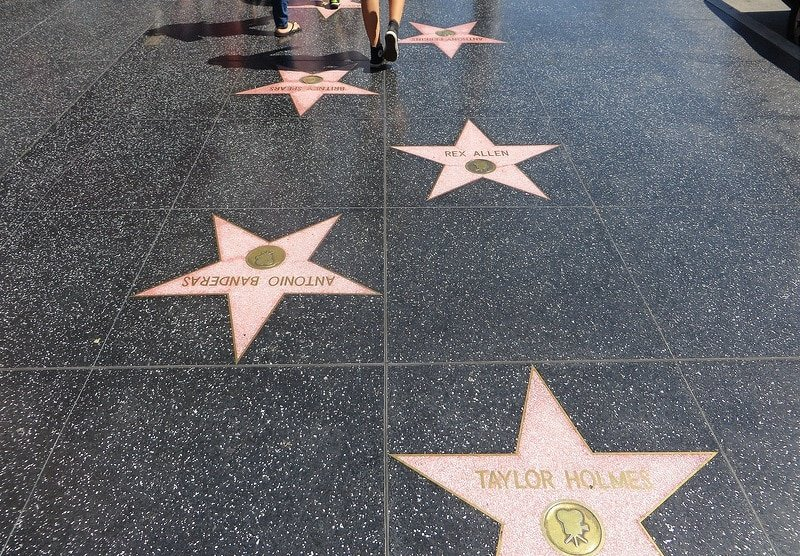 Hollywood Boulevard et le Walk of Fame