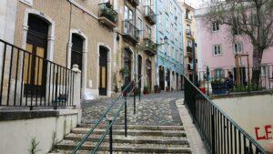 Loger à Alfama, Lisbonne