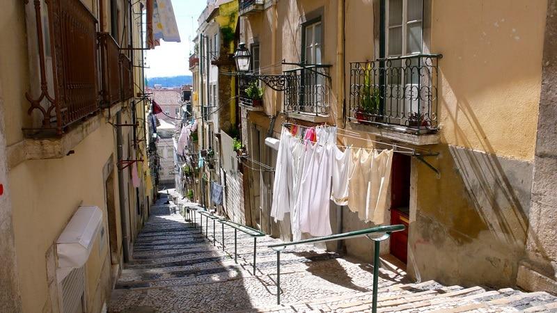 Loger à Bairro Alto, Lisbonne
