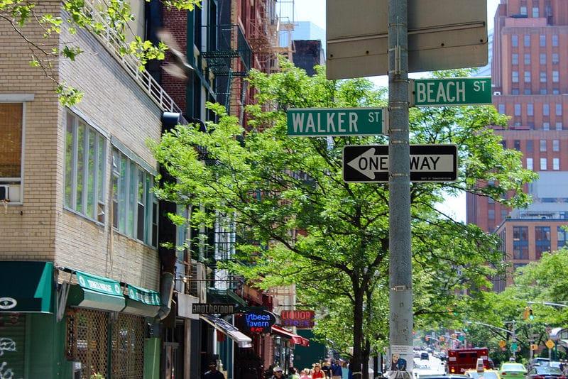 Loger quartier Tribeca