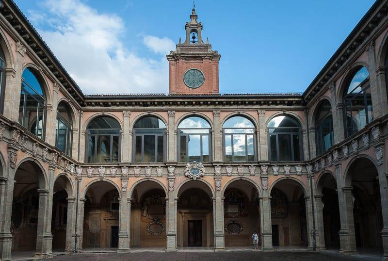 Palazzo dell'Archiginnasio, Bologne