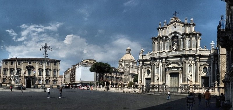 Piazza del Duomo, Catane