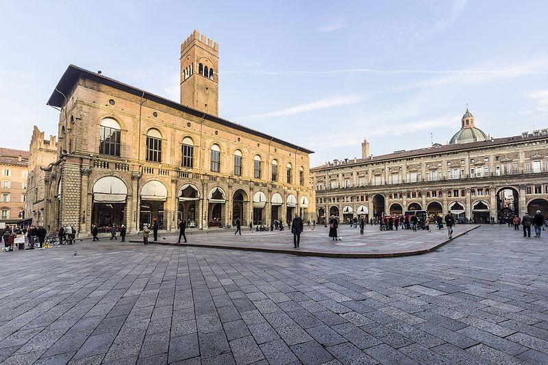 Piazza Maggiore, Bologne