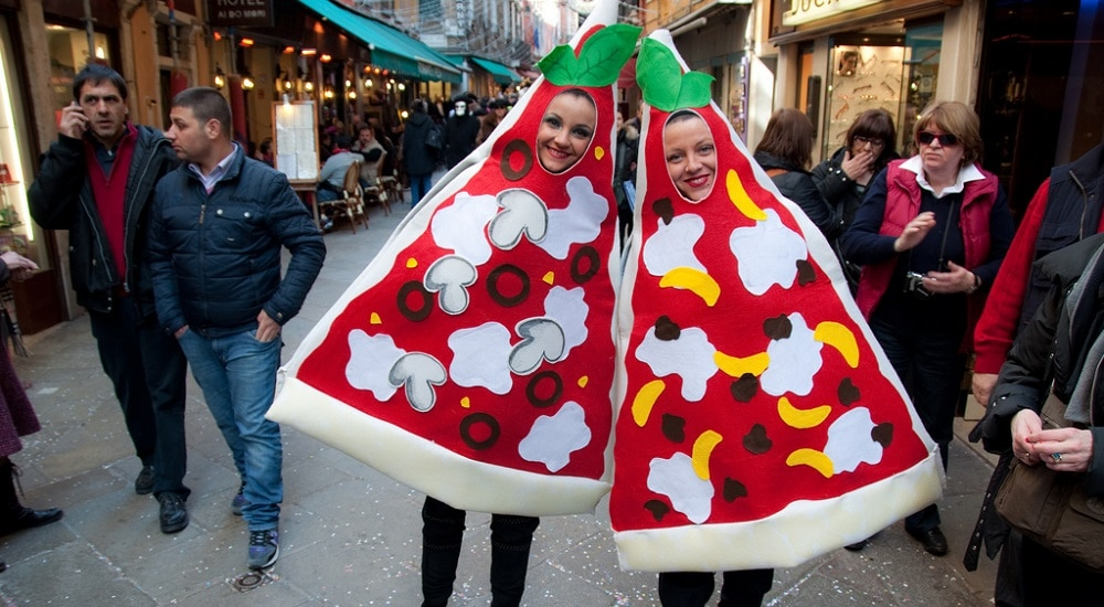 Pizza, kebab, fast-food, Venise