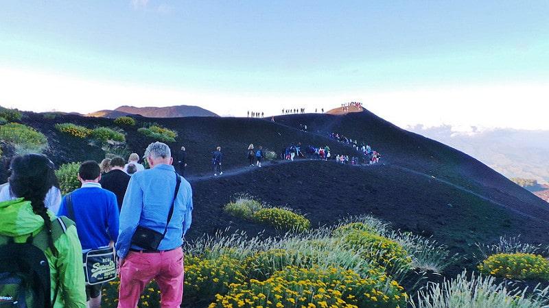 Randonnée Mont Etna, Catane