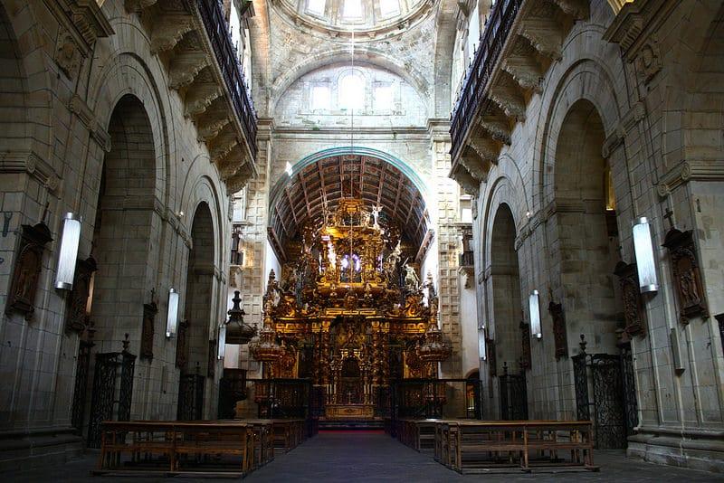 San Martiño Pinario, Saint-Jacques-de-Compostelle
