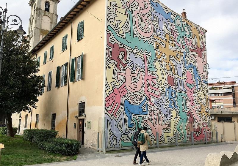street-art Tuttomondo, Pise
