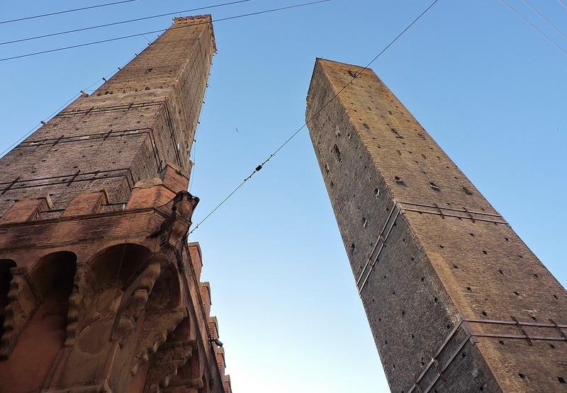 Tours Garisenda et Asinelli, Bologne