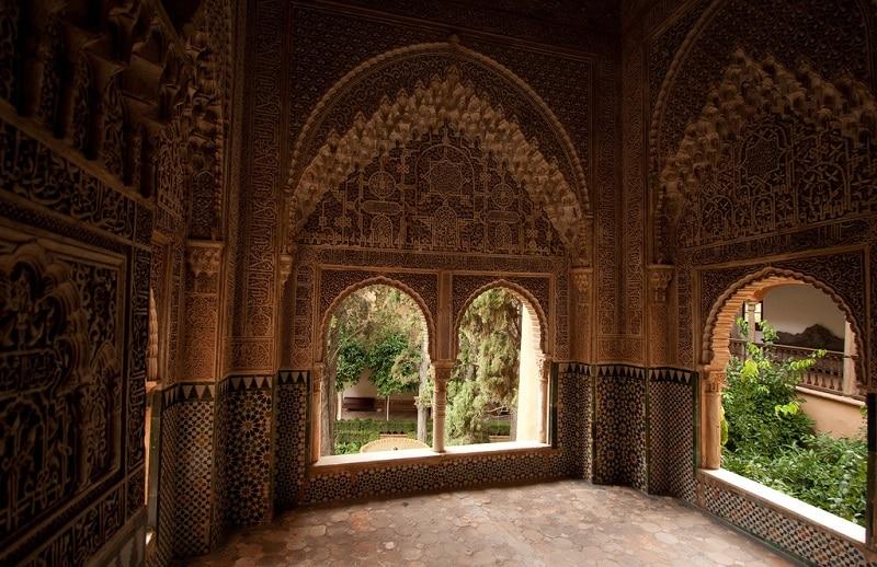 Voûtes à l'Alhambra
