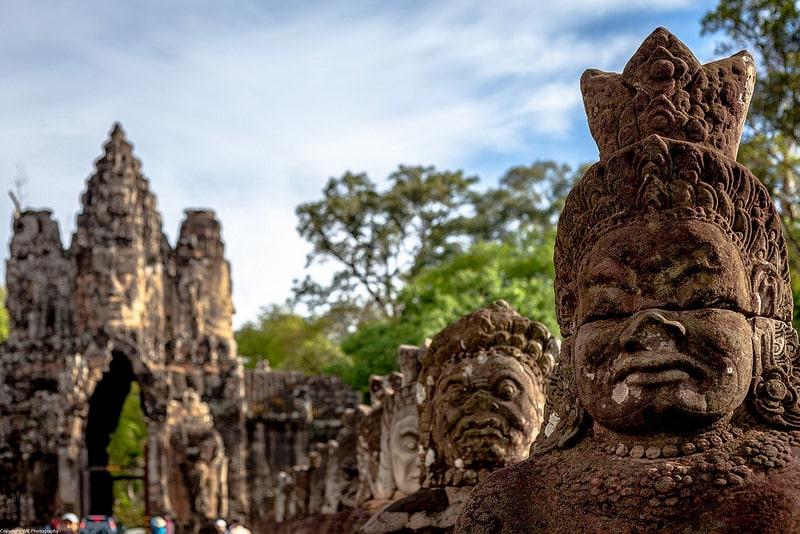 Angkor Thom, temples d'Angkor