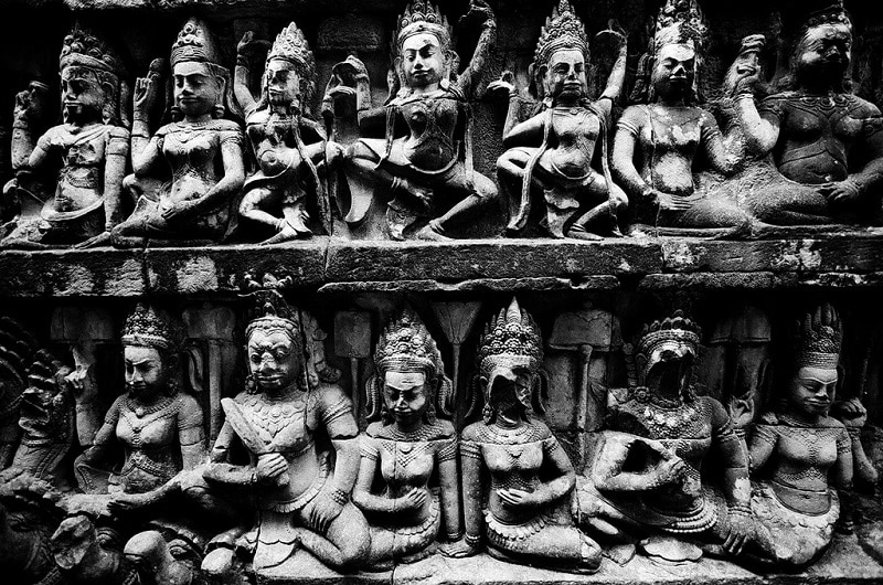Bas relief Angkor