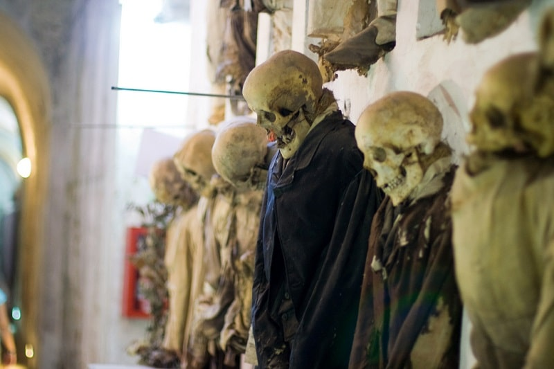 Catacombes capucines Palerme