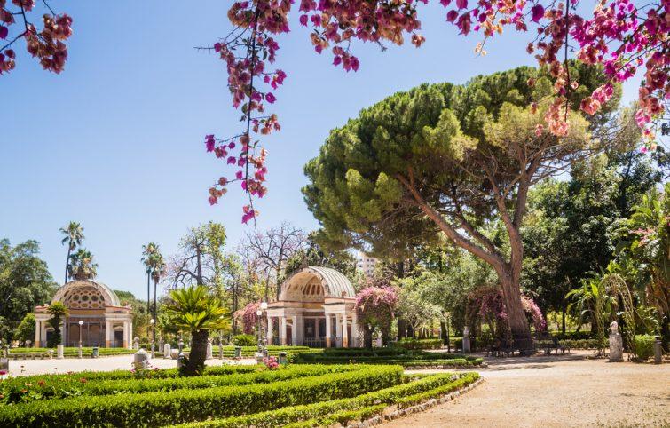 Jardins botaniques, Palerme
