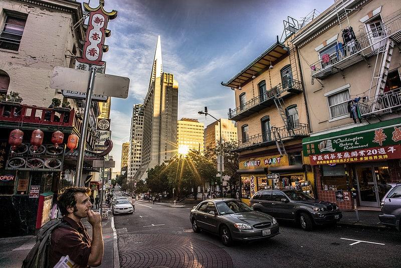 Loger à Chinatown, San Francisco