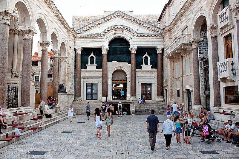 Palais de Dioclétien, Split