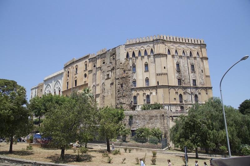 Palais des Normands, Palerme