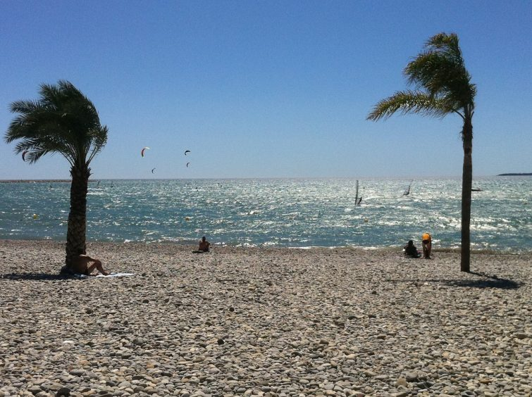 Les plages de la Côte d'Azur