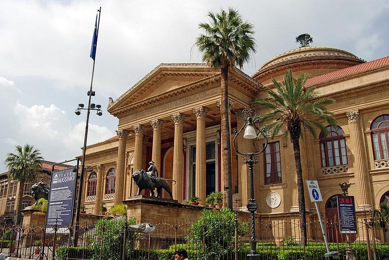 Teatro Massimo Vittorio Emanuele, Palerme