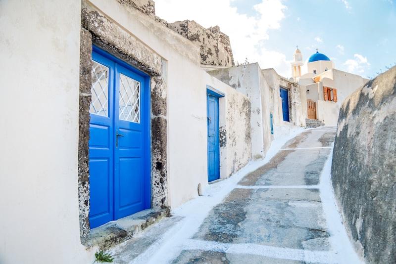 Akrotiri, Santorin