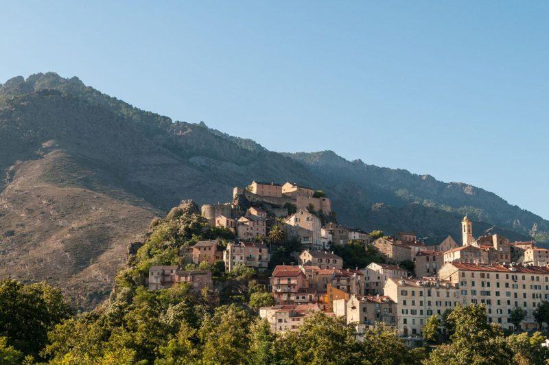 Corté, Corse