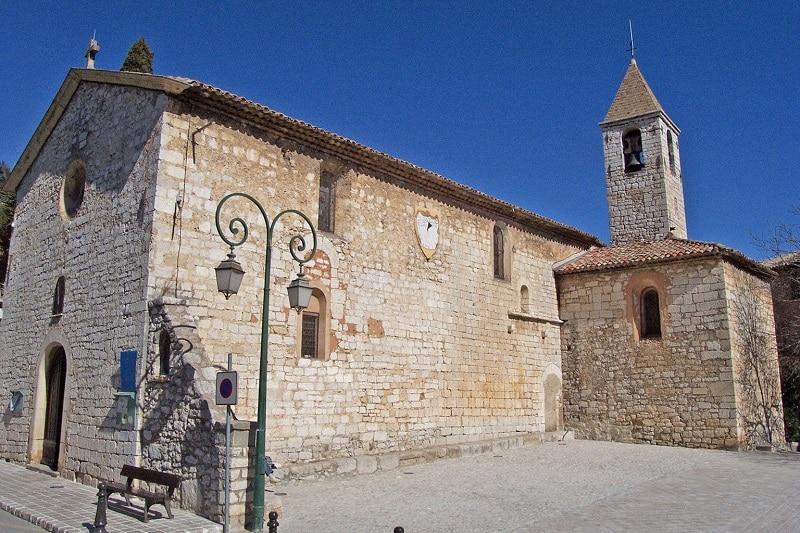 Eglise Saint-Grégoire, Tourrettes-sur-Loup