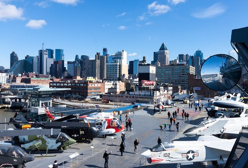 Intrepid Sea-Air-Space Museum, New-York