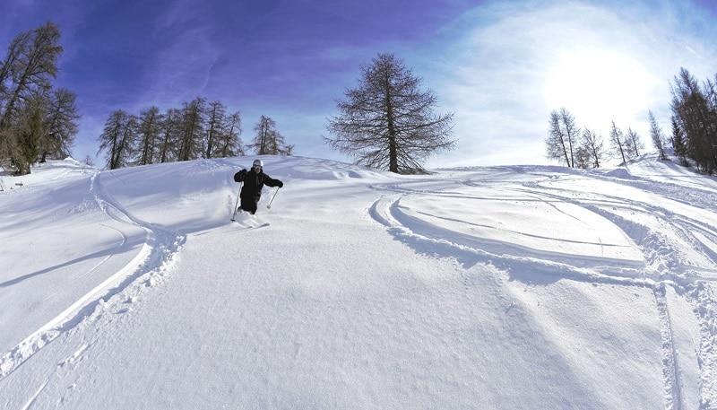 Ski, Valdeblore La Colmiane