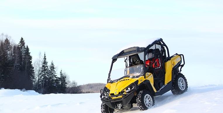 Buggy des neiges, Canada en hiver