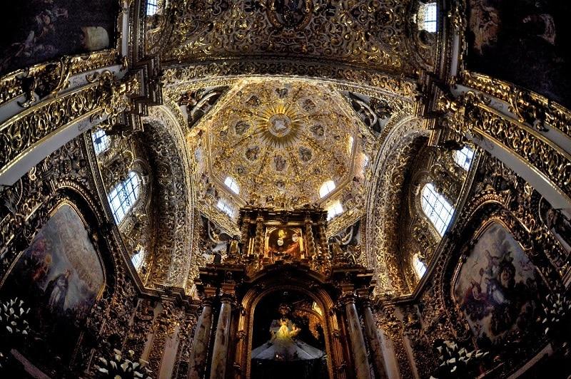 Chapelle du Rosaire, Puebla
