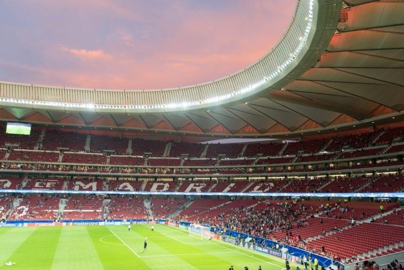 Stade Wanda Metropolitano, Madrid