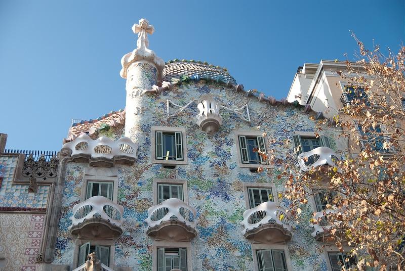 Gaudi Casa Batllo, Barcelone