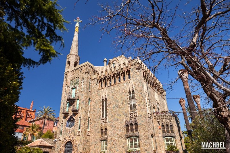 Gaudi, Casa Bellesguard, Barcelone