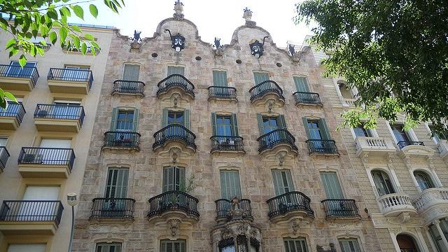 Gaudi, Casa Calvet, Barcelone