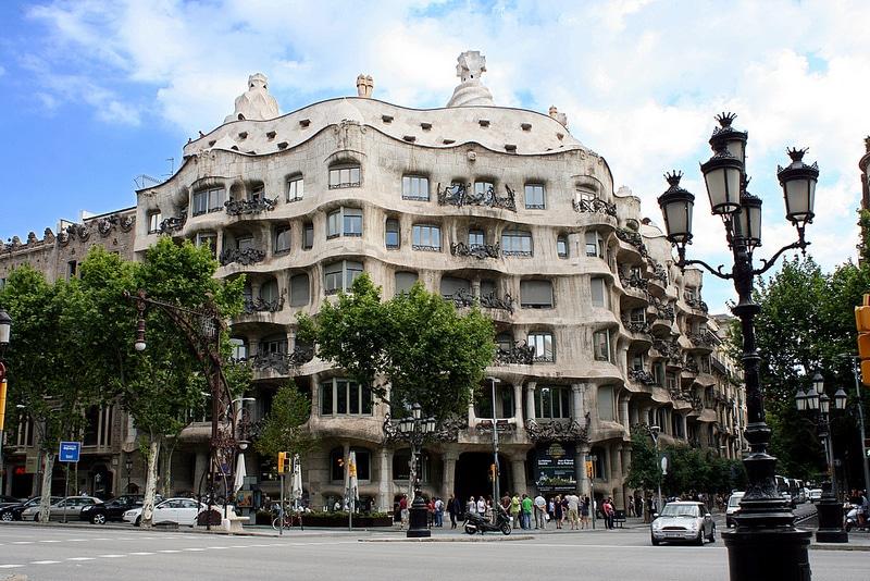 Gaudi, Casa Mila, Barcelone