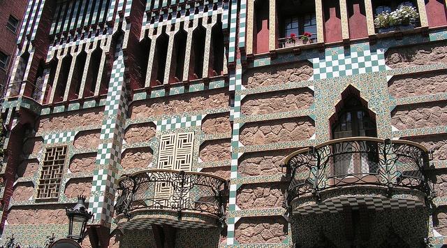 Gaudi, Casa Vicens, Barcelone