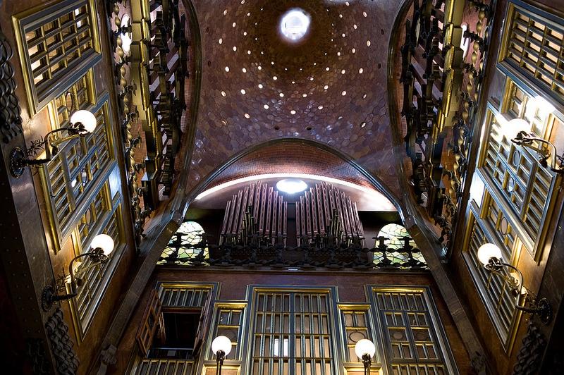 Gaudi Palau Guell, Barcelone
