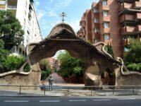 Gaudi, Porte Miralles, Barcelone