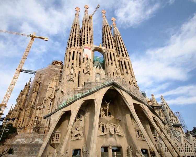 Gaudi, Sagrada Familia, Barcelone