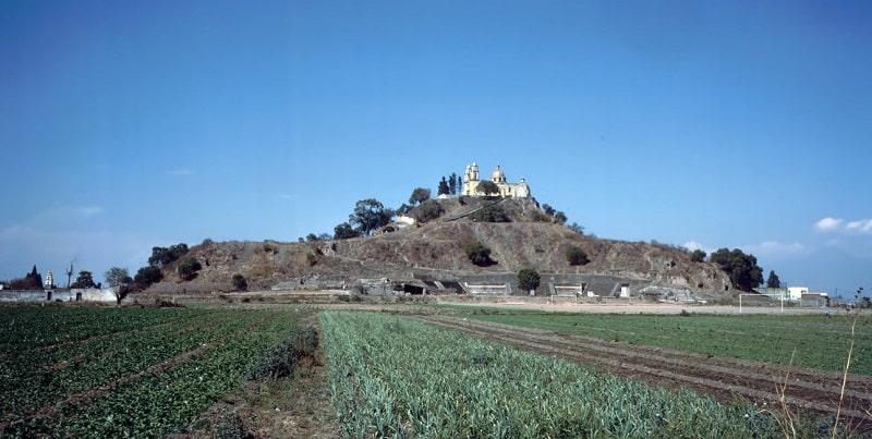 Pyramide de Cholula, Puebla